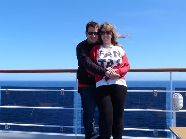 Sele y Rebeca en el Costa neoRiviera