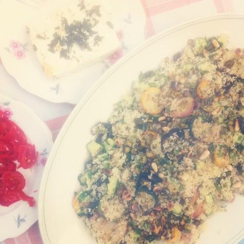 Couscous met gegrilde groenten