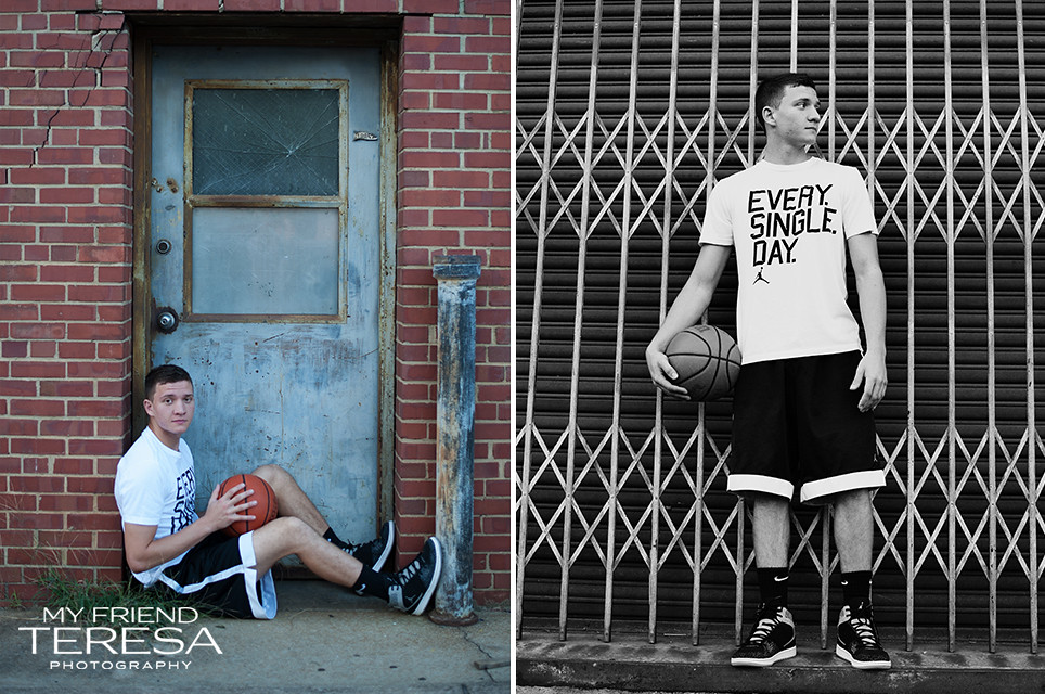 My Friend Teresa Photography Cary Academy Senior Portrait basketball