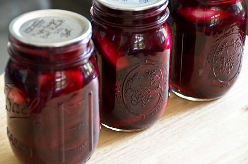 Maple Pickled Beets