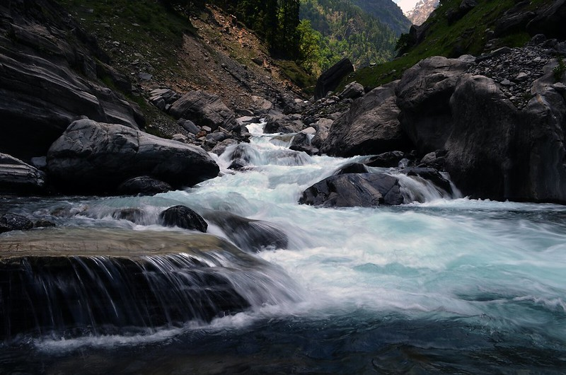 As the river flow...