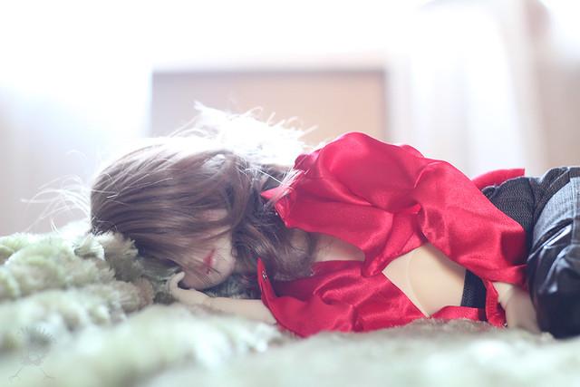 asleep Olivia
