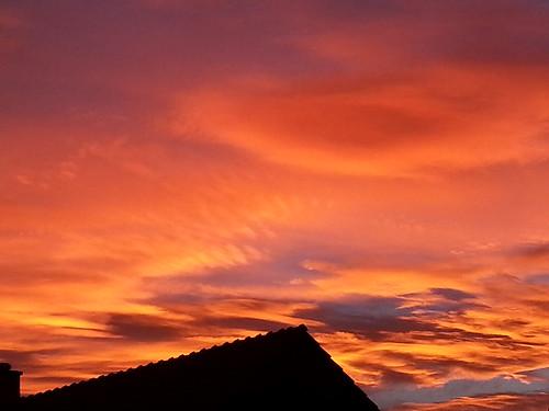 Sonnenaufgang 24.Dezember 2013