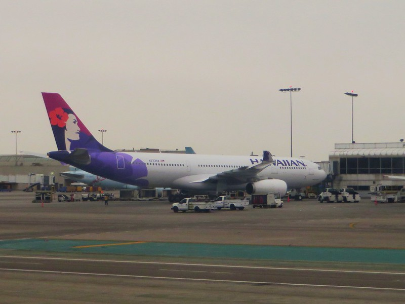 Hawaiian Airlines,  Los Angeles International Airport, Los Angeles, California