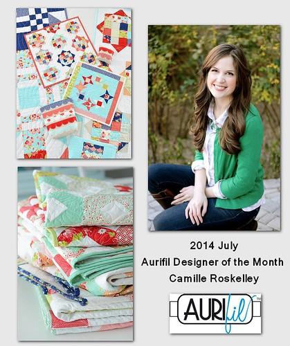 Aurifil July Designer BOM
