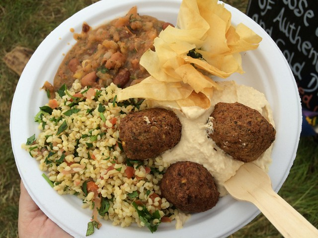 Lebanese Mezze in the Park
