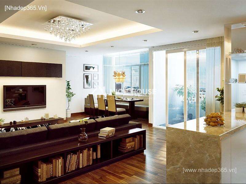 Thiết kế nội thất căn hộ nhà Lan Anh - Hà Nội_1