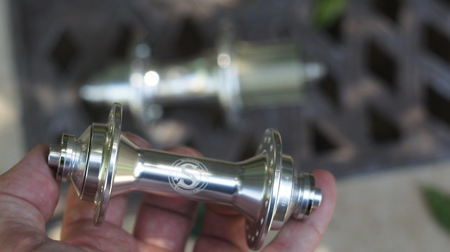"Riv ""Silver"" badged hubs"