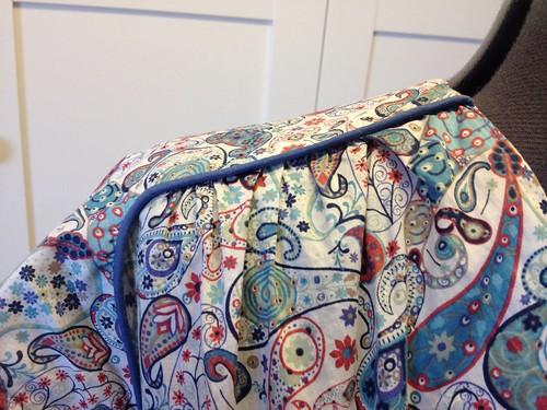 Liberty Mark Simplicity 2389 piping closeup