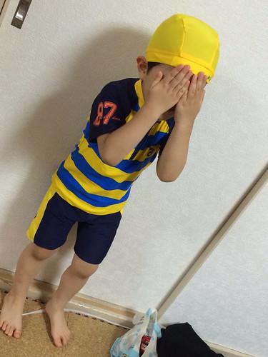 とらちゃんの新しい水着 2014/7