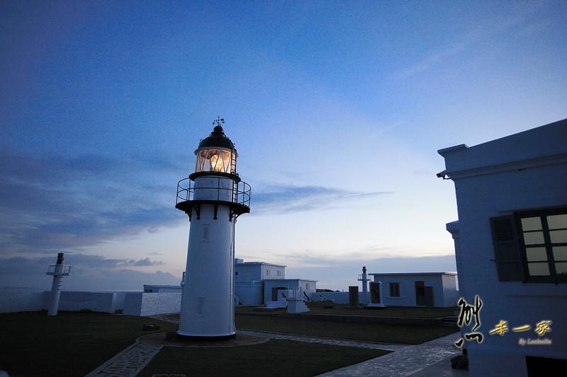 西嶼落霞|西嶼燈塔|漁翁島燈塔|咾咕石牆