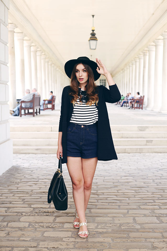 Nautical Outfit Greenwich Navy COS What Olivia Did