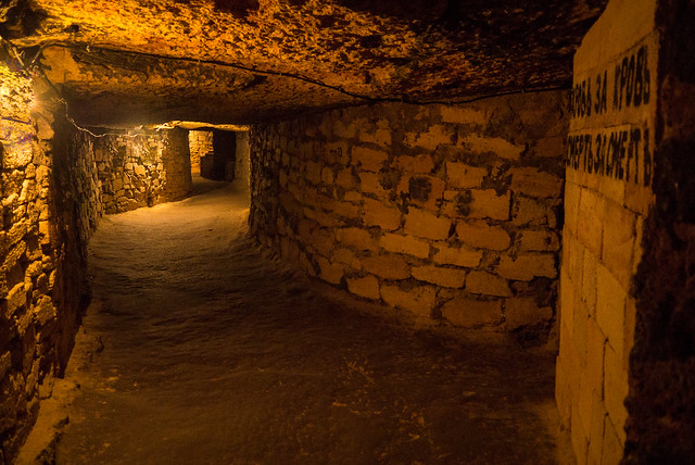 Odessa - Ukraine - catacombs