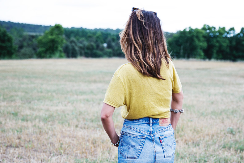LidL_Ice_Cream-Levis_Vintage_Skirt-Yellow_Top-Espadrilles-Outfit-57