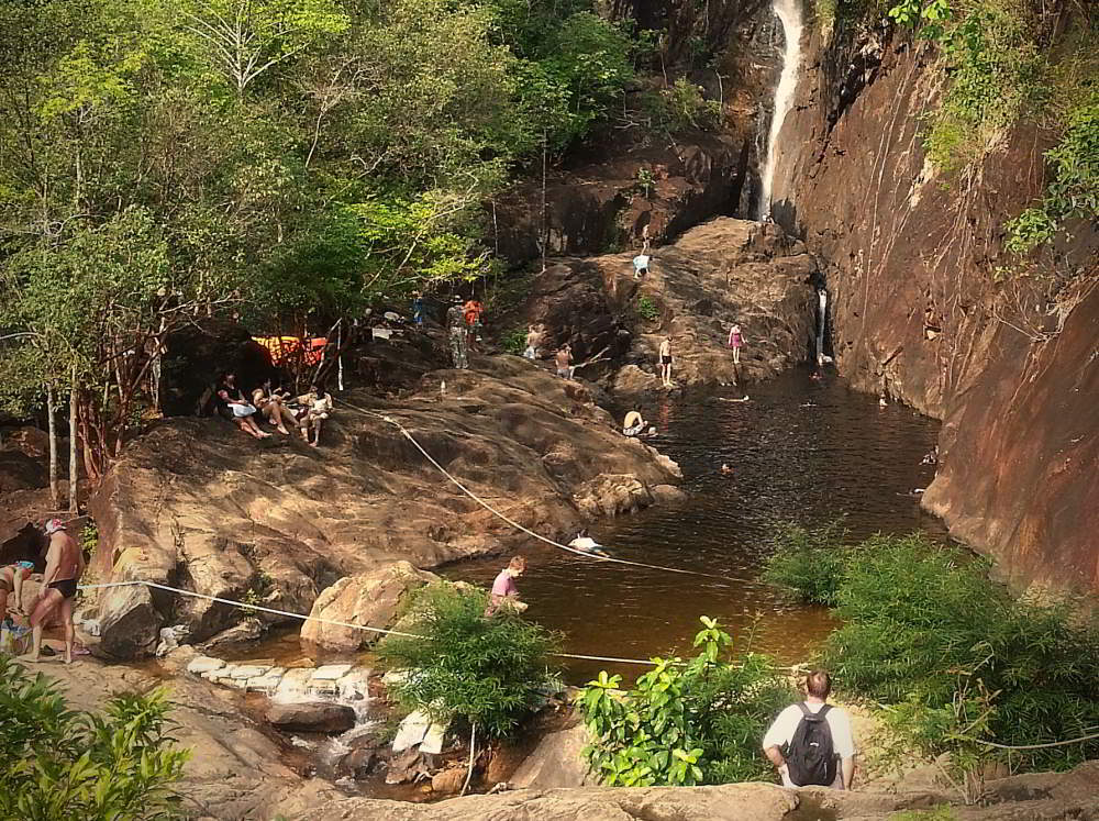 Klong Plu waterfall, Koh Chang Thailand