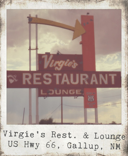Virgie's Restaurant & Lounge - Route 66, Gallup, New Mexico