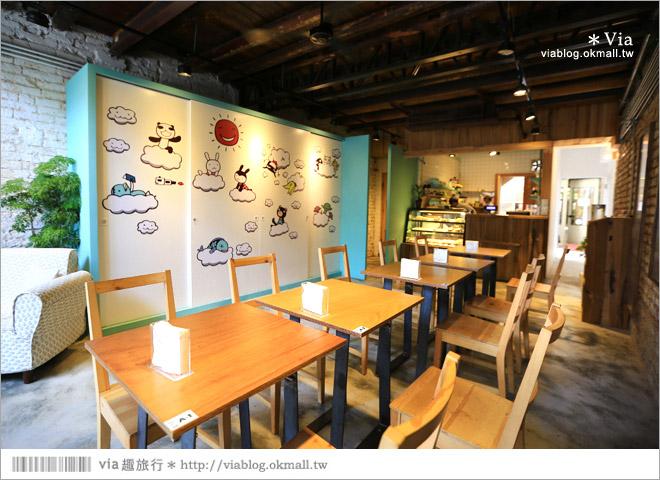 【阿朗基咖啡】台南店開幕囉!台南老屋餐廳推薦~老屋改造+可愛療癒系的新餐廳11