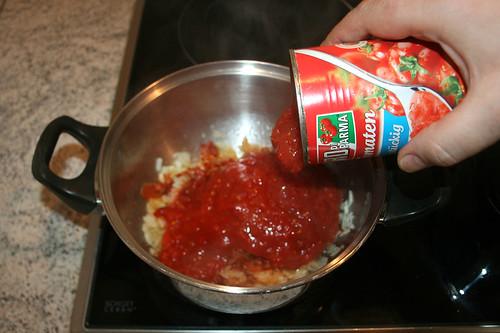 35 - Mit Tomaten ablöschen / Deglaze with tomatos