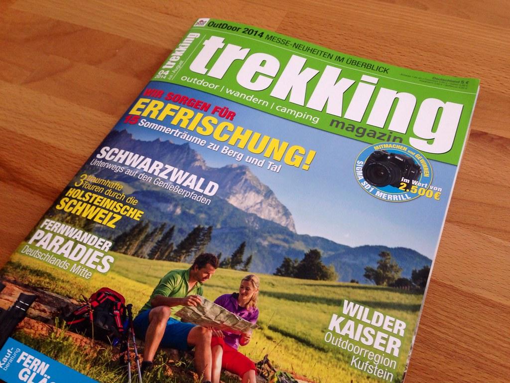 trekking Magazin 04/ 2014