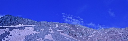 Gladstone Peak North Ridge From Bilk Basin