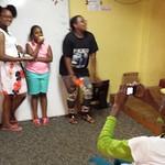 Raven, Betty, Skylar and Ari doing a mini photo shoot