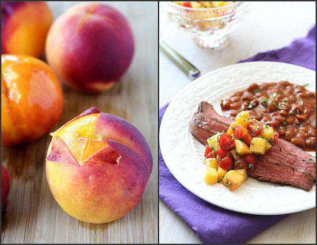 Peach Recipes | cookincanuck.com