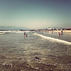 #beach day in #SantaMonica!