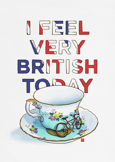 i feel very british today