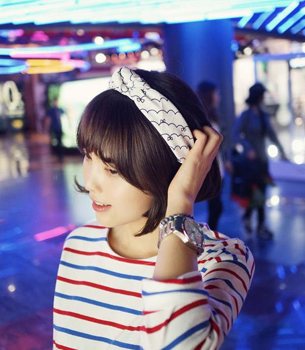 Cách quàng khăn ĐẸP như Hàn Quốc cho Nam/Nữ mà đơn giản 14