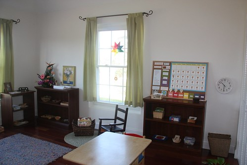 Montessori Homeschool Classroom (Photo from Counting Coconuts)