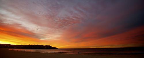 bondi sunrise sydney australia