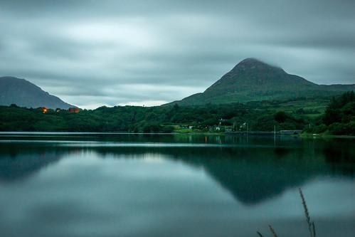 longexposure galway night landscape ie ierland letterfrack fav10 diamondhill barnadergbay