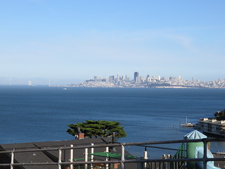 sf from Sausalito