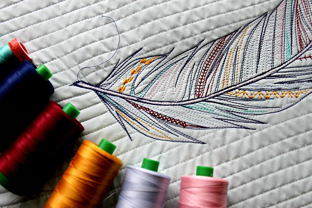 Feather Stitches
