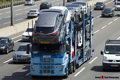 Volvo FM 400 6x2 Car Transporter - V77 ECM - ECM - M1 J10 Luton - Steven Gray - IMG_7484