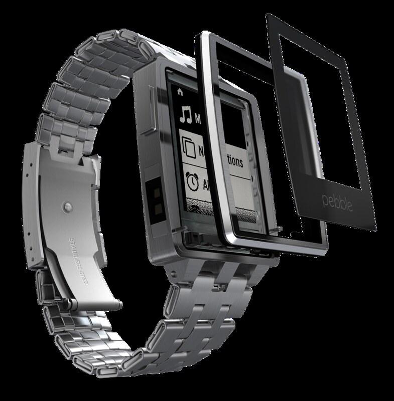 Pebble Steel - Screen