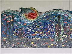Nimitz Elementary School Mosaic, left