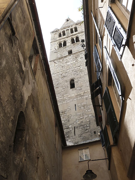 chemin du campanile