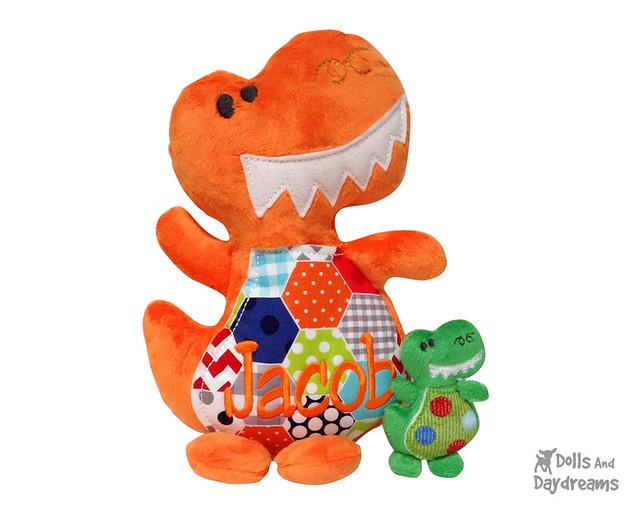 Dinosaur T Rex ITH Pattern