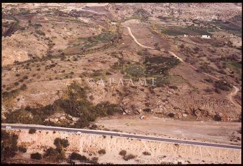 archaeology ancienthistory middleeast airphoto oblique aerialphotography aerialphotograph scannedfromslide aerialarchaeology