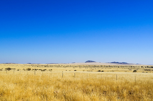 Dry fermes de Namibie