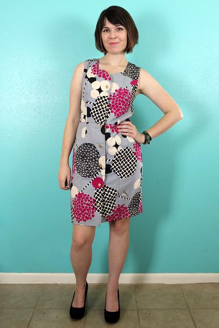 Lea Dress from Jolie Marie Louise Patterns