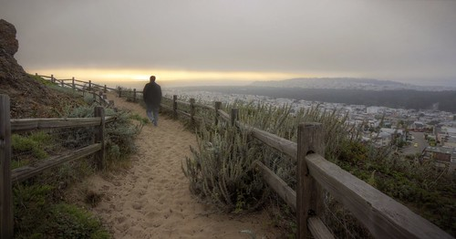sanfrancisco california park sunset sand raw day hiking path hdr grandviewpark 2xp fav100 nex6 selp1650