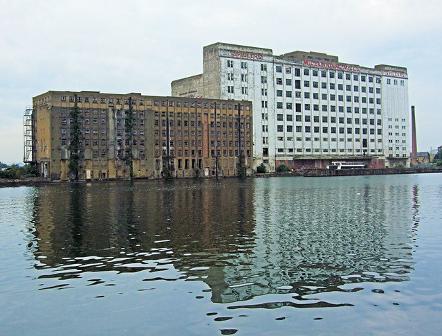 Spillers Millennium Mills, Royal Victoria Dock - London.