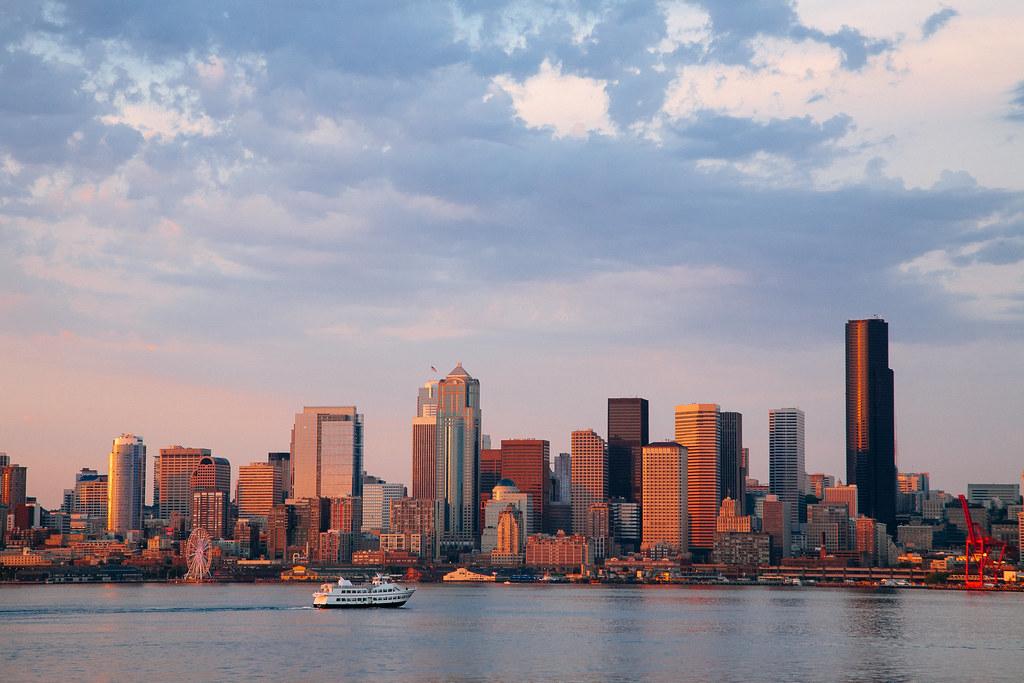 Seattle Sunset 10