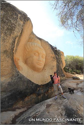 Maitreya, Ruta de las Caras