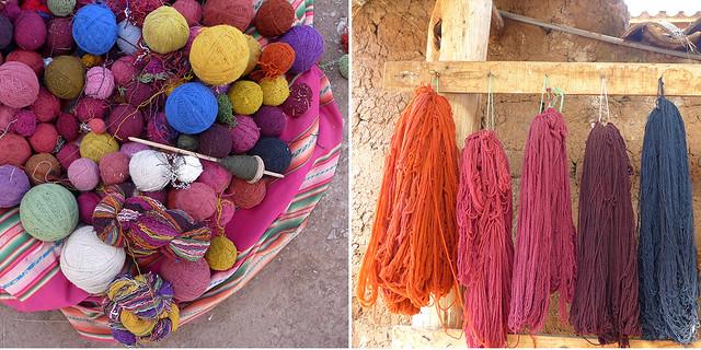Peru: tingimento