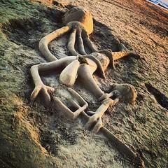 #visioni #spiaggia #sculture #nettuno #foto