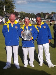 Bowls England National Triples Runners Up 2014