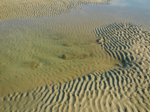 Ngapali Beach Ripples in the sandart5081w